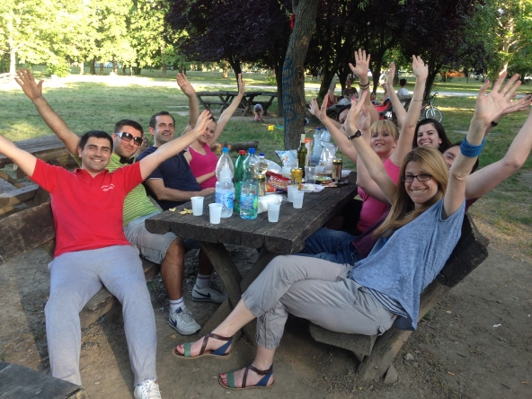JUNE 2014: CAPITAL AUSTRALIS TEAM AT BBQ