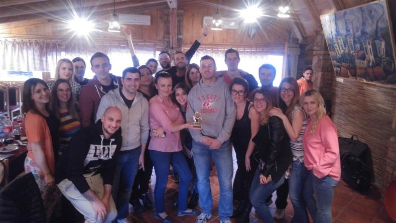 MARCH 2017: Company b'day at Sremski Karlovci